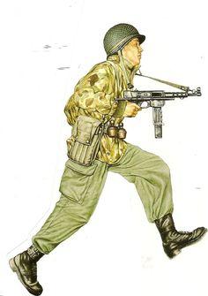 Legionaire Indochina 1952. Wearing American Marine Camo Jacket
