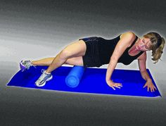 Foam rollers really do the job on muscles. Not fun while you're doing the exercise but... they're a great tool for stretching, promoting flexibility and Myofascial Release! Alleviates muscle and soft tissue tightness of the upper and lower back, IT band, hamstring, adductors, upper arm, and much more!