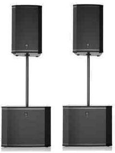 Ultimate EV Speaker Package with Subwoofers Pro Audio Speakers, Powered Speakers, Speaker Plans, Speaker System, Dj Setup, Studio Setup, Speaker Box Design, Subwoofer Speaker, Dj Gear