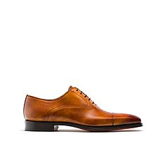 Cuero light brown leather oxford shoes for men - Magnanni