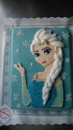 Tarta de Frozen.