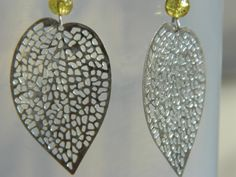 Spring Blossoms Filigree Leaf Earrings by NativePrideCreations, $4.99
