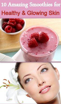 Smoothies for Skin // Natural Skin Treatment // www.skinnymetea.com.au/blogs/smtblog