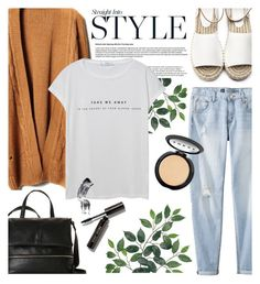 """""""Sem título #744"""" by sofiasolfieri ❤ liked on Polyvore featuring Mossimo, French Connection, MANGO, LORAC, Bobbi Brown Cosmetics, casual and casualoutfit"""
