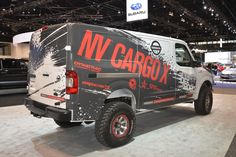 2018 nissan nv cargo.  Nissan Nissan Is To Showcase This Modified Version Of Its NV Cargo Van At The  Chicago Auto In 2018 Nissan Nv Cargo