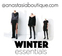 Winter Essentials by anastasia-boutique on Polyvore Rick Owens FW 2017
