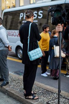 Milan Fashion, Spring Summer Fashion, Street Style, Style Inspiration, Gallery, Bags, Handbags, Urban Style, Roof Rack