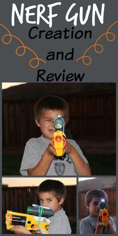 CHECK OUT MY SON'S NERF CREATION! #nerfgun   #nerfwar   #create   #build   http://mehaffeymoments.blogspot.com/2014/11/nerf-gun-creation-and-video.html