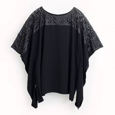 SEELENLOOK #NEWS   Longtunika von MAT Fashion Schwarz Gr. 40-50.   Im Onlineshop ansehen:  https://seelenlook.de/damenmode-neuheiten   #Lagenlook #Plussize #Fashion #Mode #Style