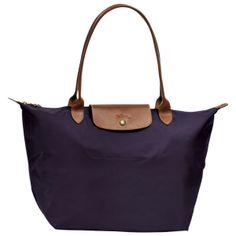 Longchamp Le Pilage Shopping bag Large Bilberry / Purple