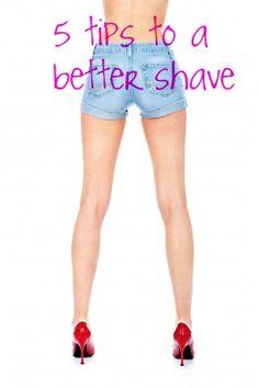 tips for better shaven legs