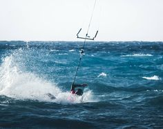 """""""Wiping out is an underappreciated skill"""" Photo: @marcovibes #kitesurfing #kiteboarding by visionkitemag"""