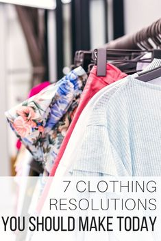 Clothing resolution ideas from The Wardrobe Stylist to help you in the new years to come. Inspirations for clothing resolutions you can action to overcome challenges and achieve self-care. #Resolutions #Clothes #SelfCare #Help #NewYear