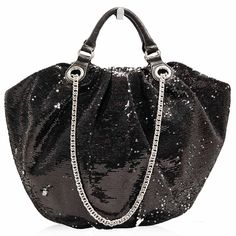 Oryany Black Sequins Bag  http://www.consignofthetimes.com/collections/handbags