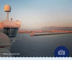 Κατάστρωμα με θέα! Ευχαριστούμε τον Manos Karagiannakis για την όμορφη φωτογραφία.  #Photo_of_the_week  Deck with a view! We would like to thank Manos Karagiannakis for this lovely photograph.