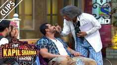 Dr. Gulati performing Tooth Test on John Abraham - The Kapil Sharma Show...