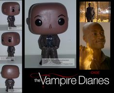 The Vampire Diaries Custom Funko Pop Of Cade - Custom Funko Pop Obsession Pop Custom, Custom Funko Pop, Vampire Diaries Outfits, Vampire Diaries The Originals, Funko Pop Dolls, Original Vampire, Pop Vinyl Figures, Vinyls, Teen Wolf