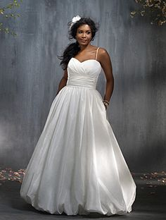 Alfred Angelo Bridal Style 2275  I feel like this is so not me, but I kind of like it