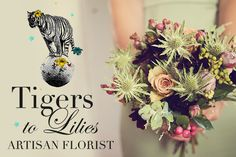 tigers to lilies artisan florist uk - Google Search