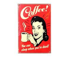 "Grafika na blasze ""Coffee"" | Westwing Home & Living"