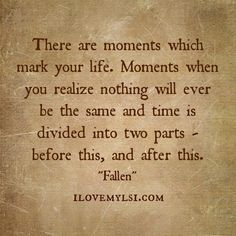 There are moments which mark your life. - I Love My LSI