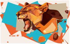 dreaming over vector animals :: TXTnein - art magazine ::