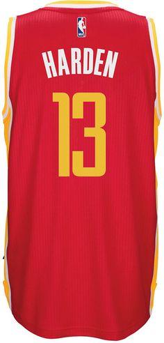 133f8408e adidas Men s James Harden Houston Rockets Swingman Jersey