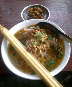 Shan noodle is one of the famous Myanmar food. It is very delicious. Most of the Myanmar like it and I also like it. It is derived from Shan State which is east part of Myanmar. We can eat it as lu…