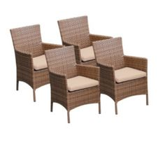 Product Image: TKC Laguna Dining Chairs with Arms, 4 Piece