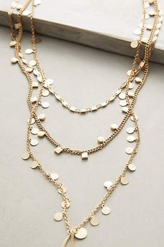 Lucina Layered Necklace - anthropologie.com