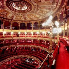 Bourla Theatre, Antwerp, Belgium I love theater and I imagine it would be amazing to see something here