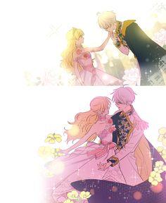 Episode Who Made Me a Princess - Tappytoon Comics Anime Wolf, Anime Cat, Kawaii Anime, Manga Anime, Anime Princess, My Princess, Anime Outfits, Anime Family, Anime Couples Manga
