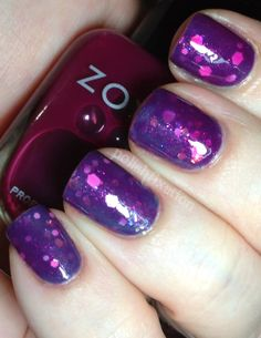 polish fixation: Jelly Sandwich with Zoya Paloma