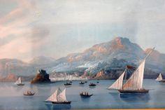 Gouache napoletana, dipinti ottocento napoletano -