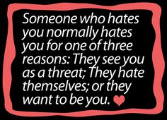 And I've dealt with all three types...