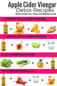 Best Apple Cider Vinegar Detox Recipes for a Healthier Lifestyle