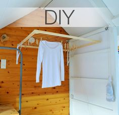 Gem & Em: DIY- foldable drying rack