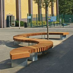 Woodscape offers a bespoke design service to help you create innovative hardwood street furniture specific to your own specification.