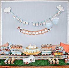 aviator baby party