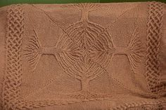 Yggdrasil Afghan - Media - Knitting Daily