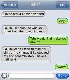 Faithful Boyfriend...
