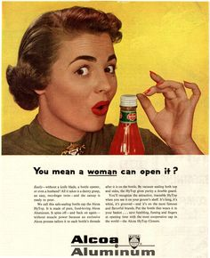 8 Outrageously Sexist Vintage Ads to Remind You What Moms Used to Put Up With