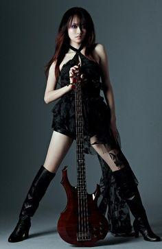 Doris Yeh of symphonic black metal band Chthonic