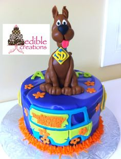 Edible Creations' Scooby Doo!! Entirely edible :0) Check us out on Face Book @ Edible Creations or email us @ Ediblecreations@hotmail.ca