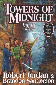 I absolutely love this series (I have to say it's my favorite) and the last book is FINALLY out! Thank you Robert Jordan for your great work and thank you Brandon Sanderson for continuing his work and doing it justice. #ThriftBooksTop10