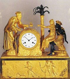 Image Antique Pendulum Wall Clock, Antique Wall Clocks, French Clock, Classic Clocks, Wall Clock Online, Tabletop Clocks, Clocks For Sale, Old Wall, Mantle Clock