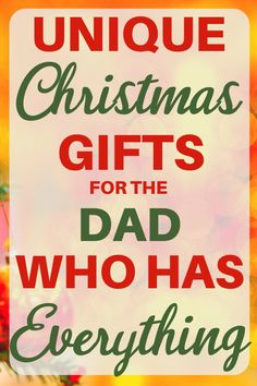 Shopping for awesome Christmas gifts for the dad who has everything? Find an amazing gift in a flash when you shop these unique ideas of gifts for dad. Gifts For Old Men, Cool Gifts For Women, Gifts For Father, Unique Gifts, Best Gifts, Creative Gifts, Fathers, Christmas Gift For Dad, Perfect Christmas Gifts