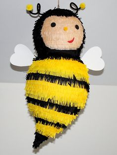 Hey, I found this really awesome Etsy listing at https://www.etsy.com/listing/229005390/honey-bee-pinata-birthday-handmade
