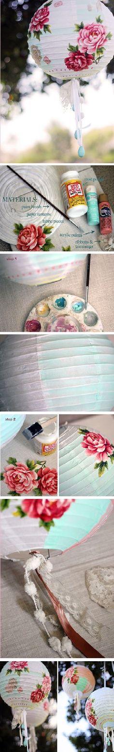 mooie papieren lantaren