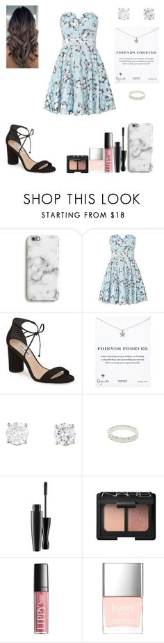 """""""Julia"""" by spacestars ❤ liked on Polyvore featuring Harper & Blake, TFNC, Steve Madden, Dogeared and Butter London"""